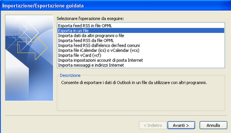 outlook backup 01 [Guida] Come eseguire il backup di Microsoft Outlook