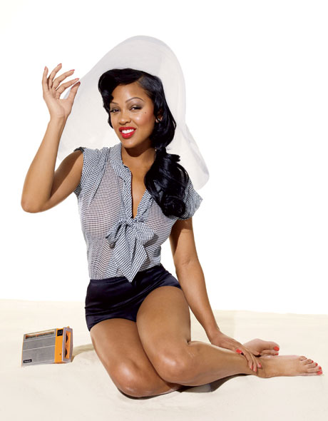 meagan good Langolo della TechnoTopa: 25 celebrit in versione anni 50!