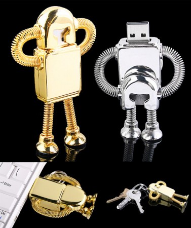 usb robot 377x450 USB Robot Flash Drive