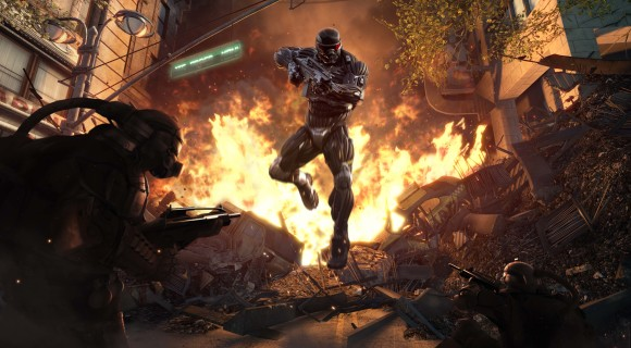 jumping through fire final 580x320 Crysis 2 sta arrivando...