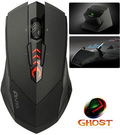 gigabyte aivia m8600 gaming mouse news CeBIT 2011: Gigabyte presenta il Wireless Macro Gaming Mouse Aivia M8600