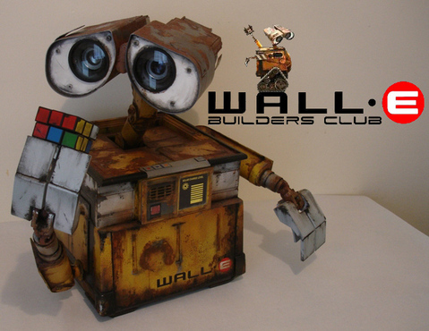 wall e Video: replica fedele di Wall E, il robottino della Pixar