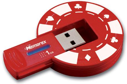 Poker USB Memorex