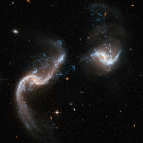 Galassie in collisione