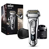 Braun Series 9 9395cc Rasoio Elettrico Barba, Ricaricabile e...