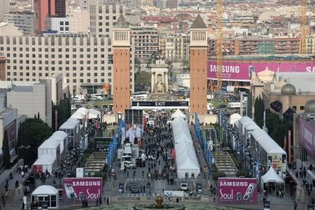 Mobile World Congress 2008 in Barcelona / Spain