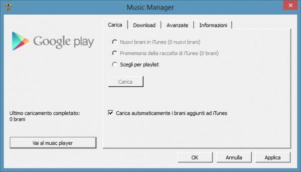Guida] Come sincronizzare la tua musica con Google Play Music