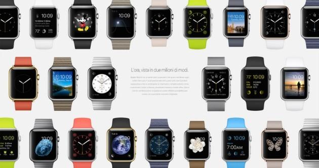apple watch personalizzazione