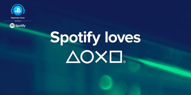 spotify+ps4