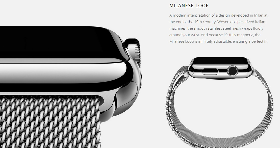 apple watch milanese