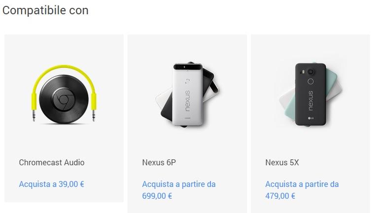 nexus_prezzi