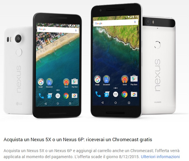 google nexus con chromecast