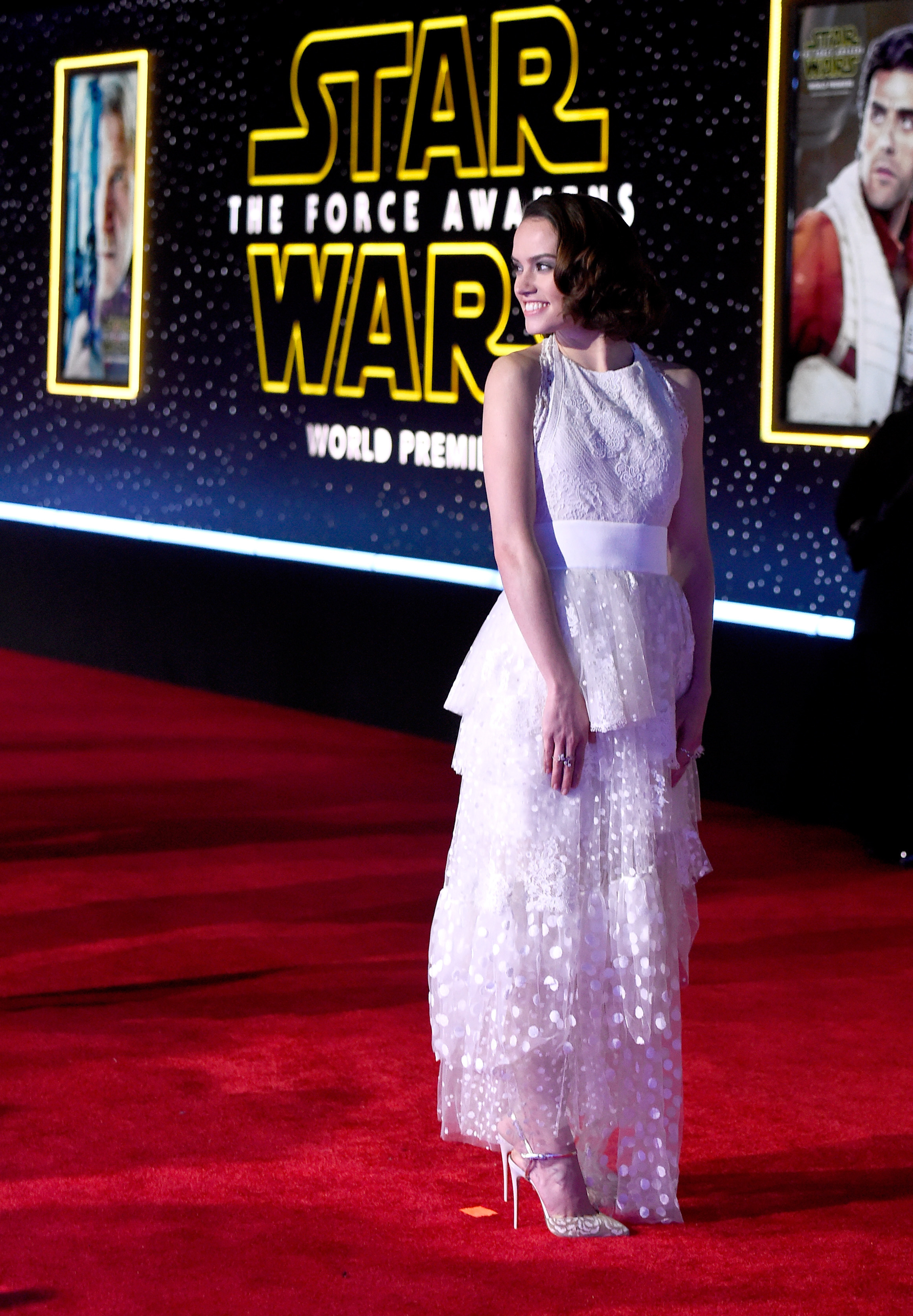 Daisy Ridley - Premiere of 'Star Wars: The Force Awakens' / Hollywood, Los Angeles, 14.12.2015