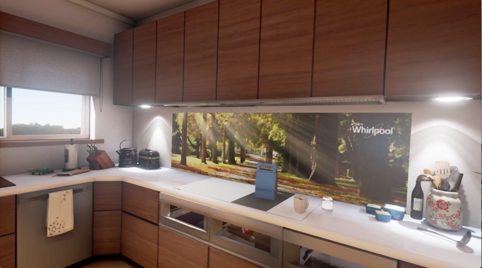 Whirlpool interactive kitchen