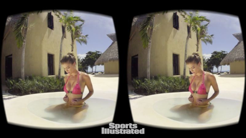 nina agdal sports illustrated VR