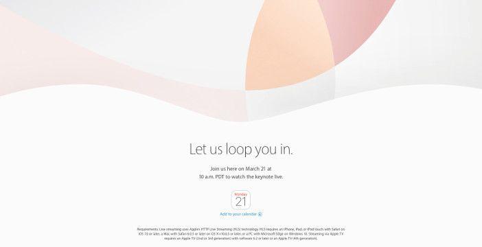 evento apple iphone se
